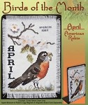 Birds of the Month - April,  American Robin