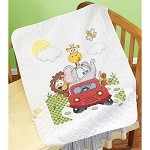 Animal Fun Ride Quilt