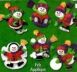 Frolicking Snow Pals Ornaments