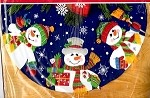 Snowmen Trio Tree Skirt