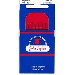 John English Tapestry Needles Size 26 - 6 pack
