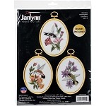 Janlynn Embroidery Kit - Hummingbirds