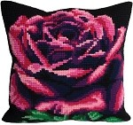 Rose Cardinal Cushion Cover Kt