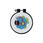 Cool Fins Cross Stitch kit