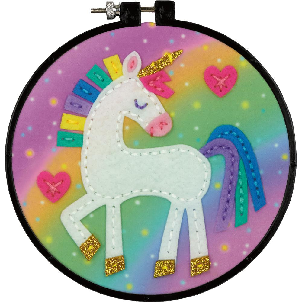 Dimensions Felt Decor Applique Kit Unicorn