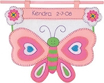 Sweet Dreams Birth Date Banner