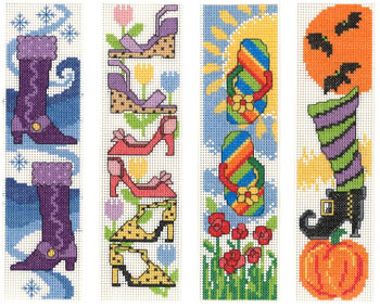 Shoes for All Seasons Bookmarks
