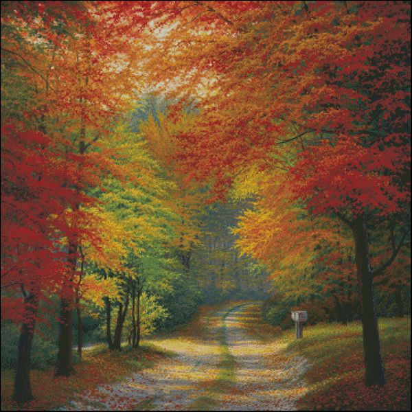 Autumn Trails - Charles White