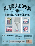 Birthday Wine Charms