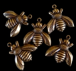 Antique Bumble Bee Charm
