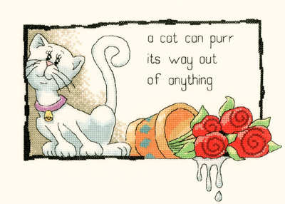 A Cat Can Purr its Way Out of Anything