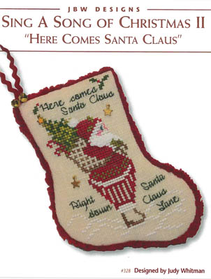 Here Comes Santa Claus Stocking
