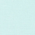 Aida - 14ct - Ice Blue - Odd Size Fat Quarter