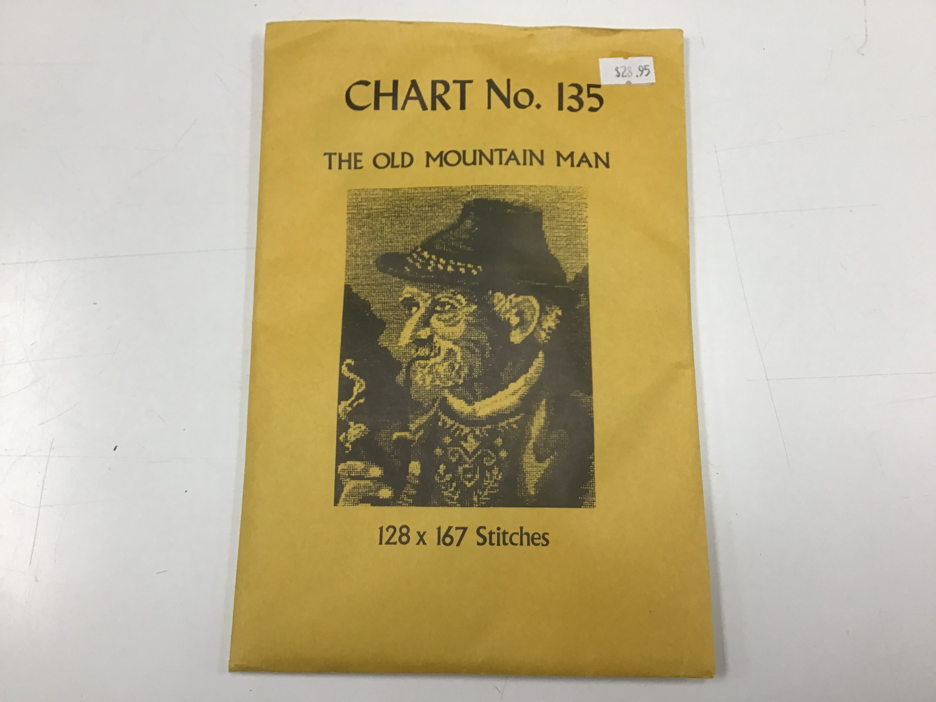 Babs Fuhrmann Chart No. 135 The Old Mountain Man