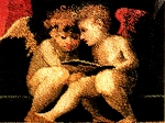Seated Cherubs