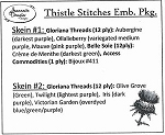 Thistle Stitches Embellishment Package