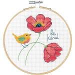Dimensions Counted Cross Stitch Kit W/Hoop 6