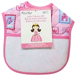 Printed Quilted Bib - Little Princess