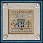 Country Cottage Needleworks - Cottage of the Month - August