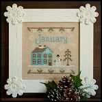 Country Cottage Needleworks - Cottage of the Month - January