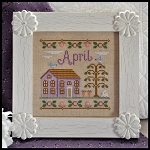 Country Cottage Needleworks - Cottage of the Month - April