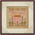 Country Cottage Needleworks - Cottage of the Month - February