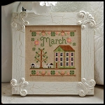 Country Cottage Needleworks - Cottage of the Month - March