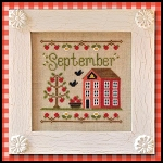 Country Cottage Needleworks - Cottage of the Month - September