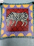 Zebra Needlepoint